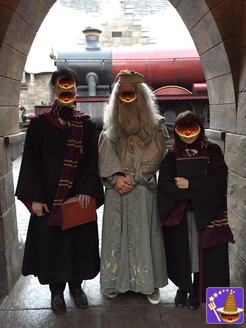 ヴォルデモートと闇陣営、ホグワーツ生、紅の豚ポルコに出会った♪ダンブルドア冬服バージョン4回目 魔法使いパンケーキマン