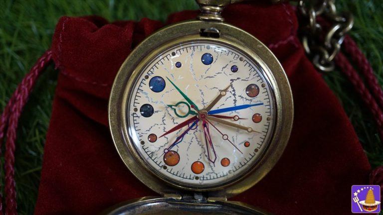 ダンブルドア校長の金の懐中時計の写真