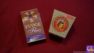 FUDGE 魔法界のお菓子 ハエ型ヌガー(ファッジ)はチョコレートじゃ♪ハニーデュークス(USJハリポタ)