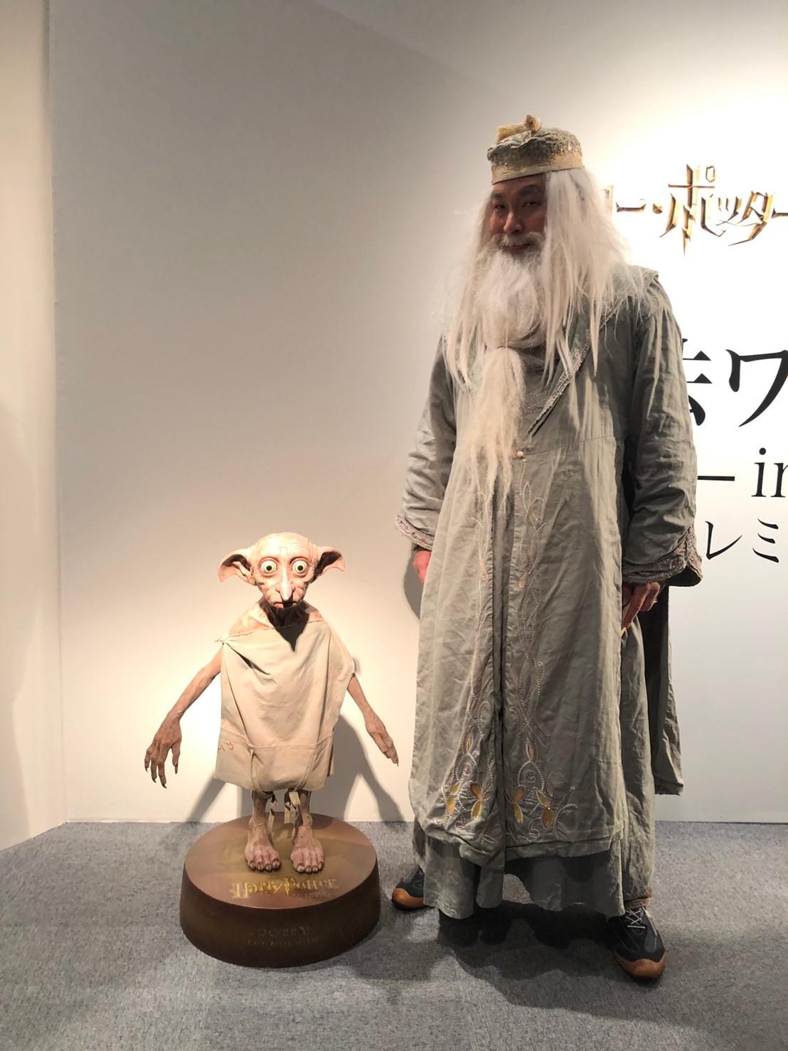 実物大のドビー(ラフォーレ原宿)