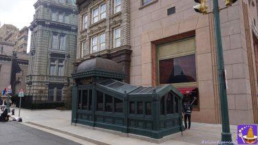 USJニューヨークエリアはファンタビのニューヨークの世界だ!撮影スポットだらけ♪特に地下鉄の緑色の出入口etc