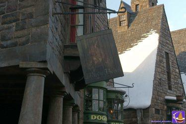 お店情報:ホッグズヘッド パブ(Hog's Head Pub)ホッグズヘッドビールetc魔法界のアルコール飲料が飲めます♪(USJ魔法界ホグズミード村)