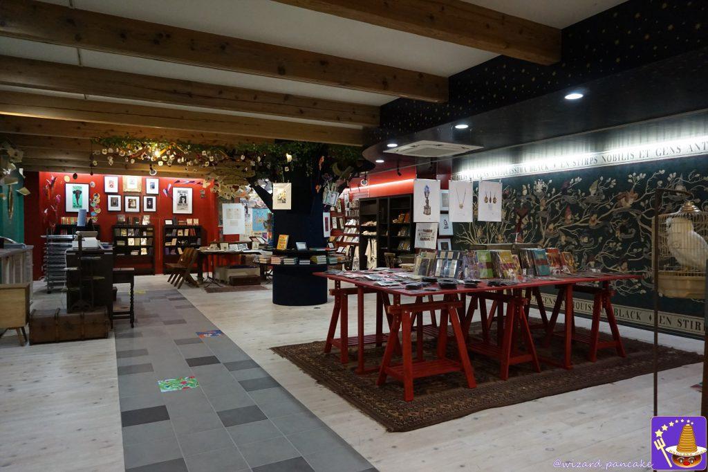 ハウス・オブ・ミナリマ大阪House of MinaLima OSAKA店内