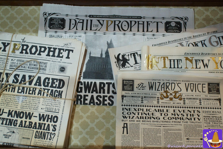 日刊預言者新聞(daily prophet)、ニューヨークゴースト(the new york goast)
