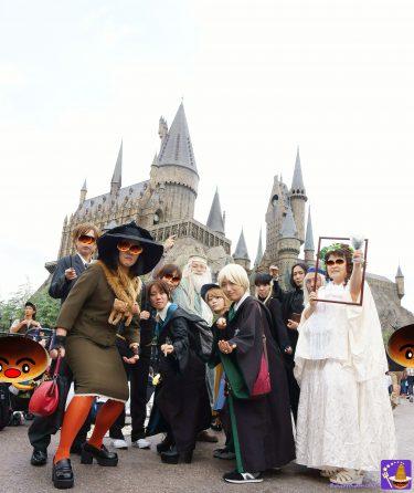 2017年ハリポタ仮装レポートVol1;USJ魔法界もハロウィンシーズンに突入♪ダンブルドアでホグワーツへ登校♪ルーピン先生の例の授業!?