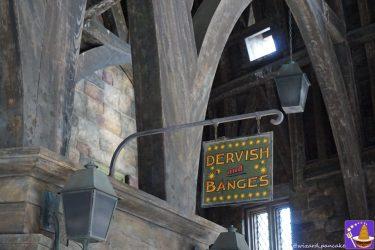 【隠れスポット】怪物的な怪物の本とダービシュ&バングズの閉店チェックリスト♪(USJ魔法界ホグズミード村)