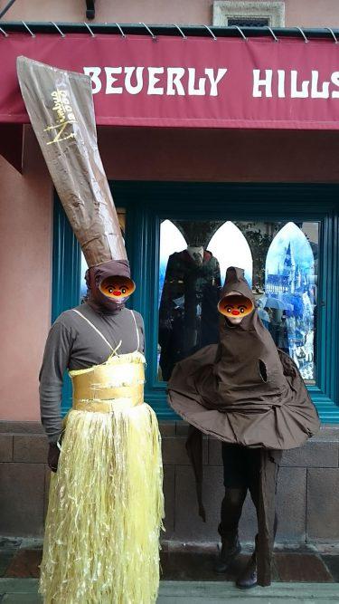【特別編】USJでハリポタの仮装2♪スネイプ軍団にニンバス2000 2代目として参加したハロウィン&ホラーナイト最終日♪