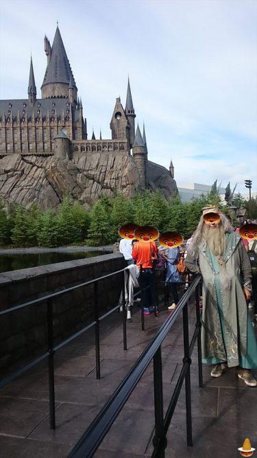 2015年USJ 仮装は魔法界でダンブルドア校長になってみた!?<1回目>