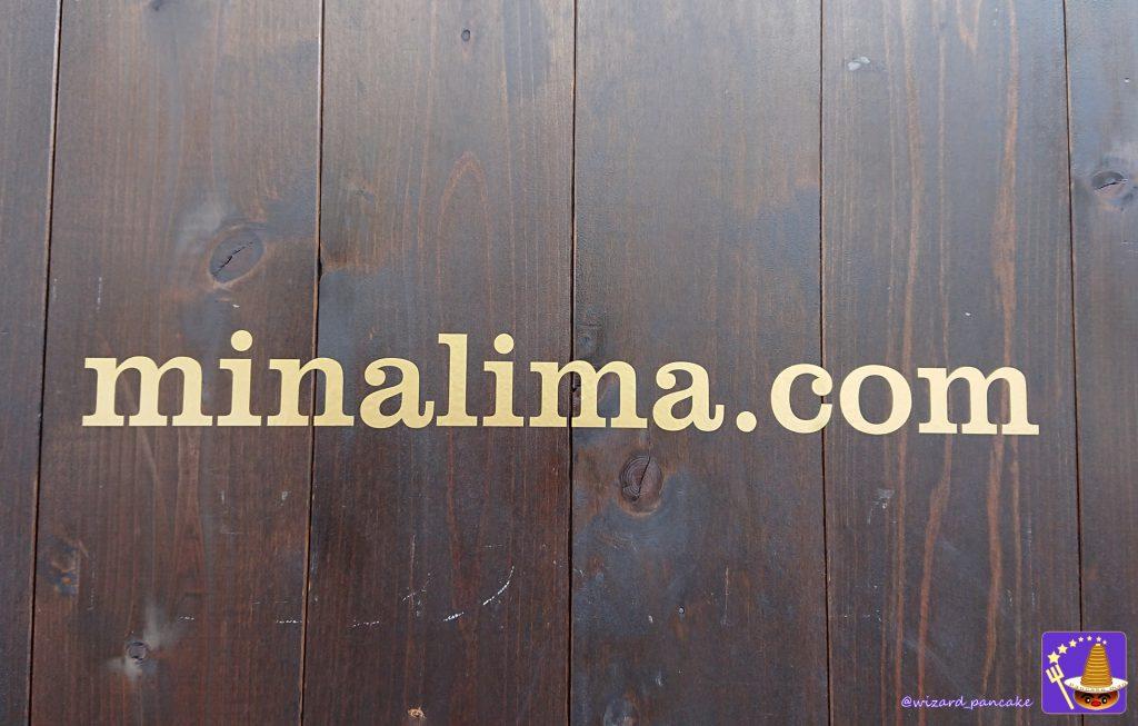 House of MinaLima OSAKA(ハウス・オブ・ミナリマ大阪)看板