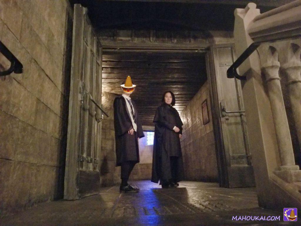 ホグワーツ魔法魔術学校の廊下(USJ)