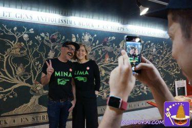 MinaLima殿2回目の来日でミナリマ大阪店へ!記念写真&サイン会&トークショーに行ってきました♪