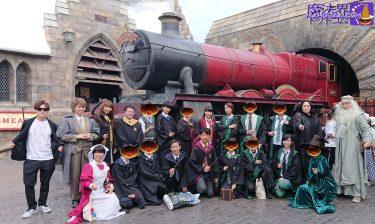 2019年9月1日ホグワーツ入学式&始業式もハロウィンもUSJ魔法界ハリポタエリアのホグワーツ&ホズミード村をハリポタ仮装で楽しもう♪
