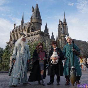 ハリーポッター仮装でホグワーツ魔法魔術学校(ユニバーサル・スタジオ・ジャパン)