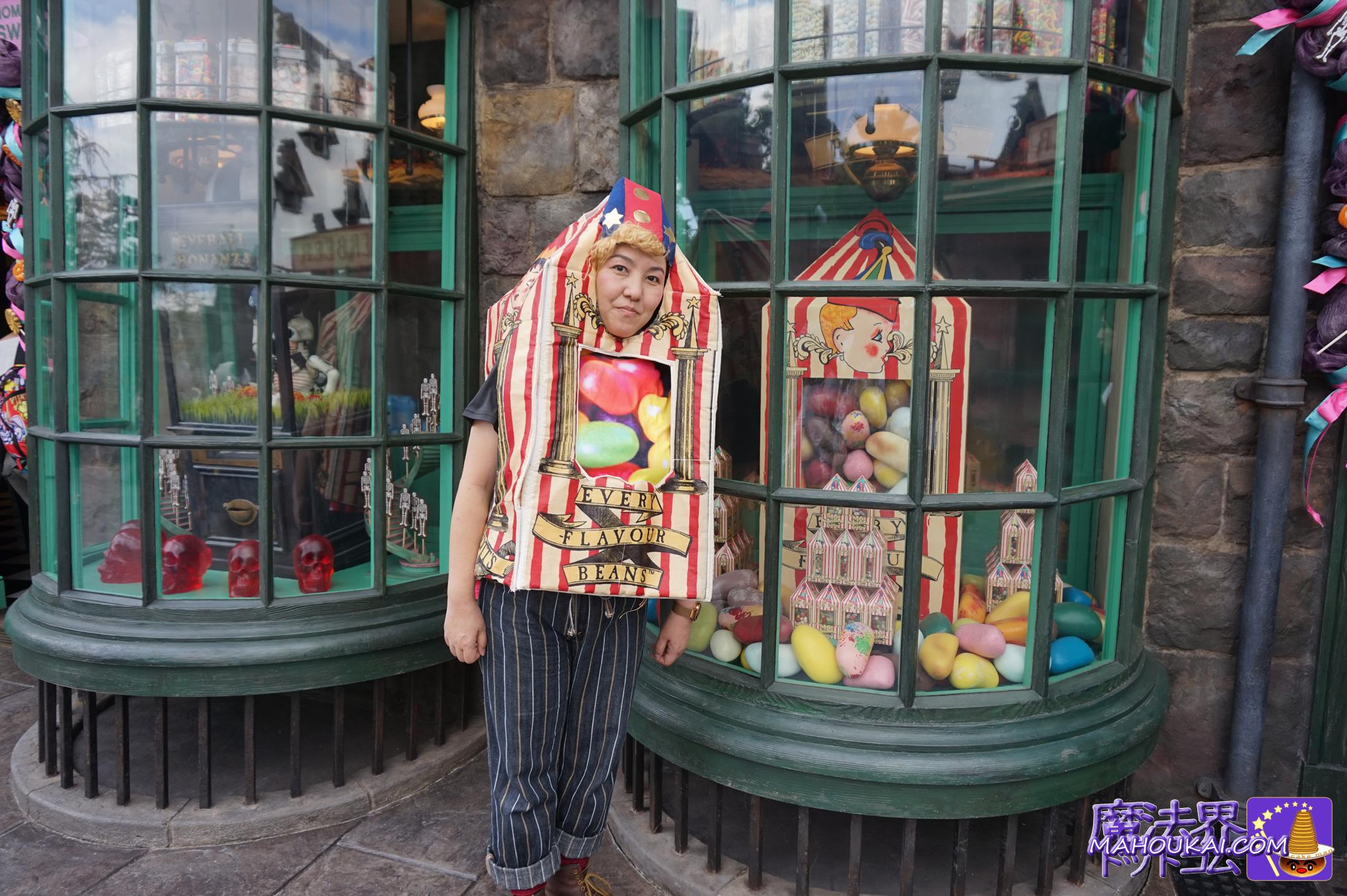 バーティーボッツの百味ビーンズの仮装 ハリーポッター仮装