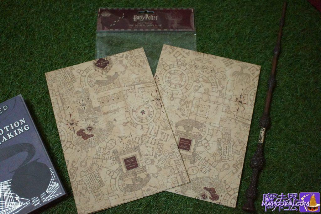 購入レポート ギフトラップ Marauder's Map 忍びの地図(MINALIMA)ミナリマ大阪