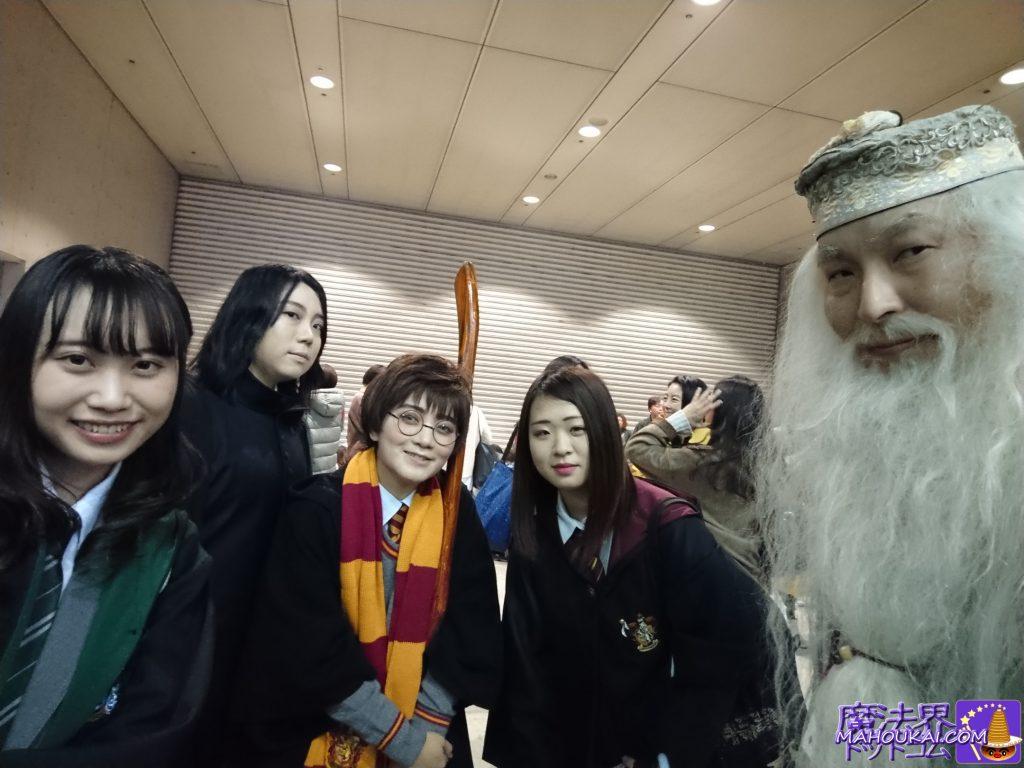 東京コミコン2019ハリーポッター&ファンタスティックビーストの集合写真