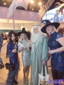 素敵な魔女のドレスの二人とsherly殿、pancakeman dumbledore
