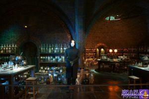 ホグワーツ地下にある魔法薬学の教室セットにはセブルス・スネイプ教授