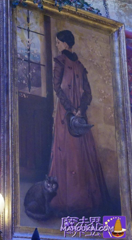 若き日のミネルバ・マクゴナガル先生の肖像画