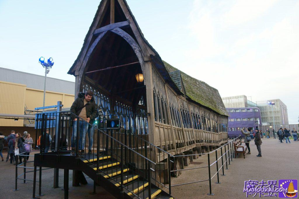 ホグワーツの橋の廊下 ワーナーブラザーススタジオツアー メイキング・オブ・ハリーポッター(英国/ロンドン)