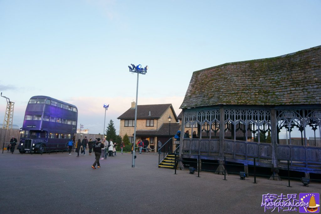 屋外のTHE BACKLOT(バック・ロット エリア) ワーナーブラザーススタジオツアー メイキング・オブ・ハリーポッター(英国/ロンドン)