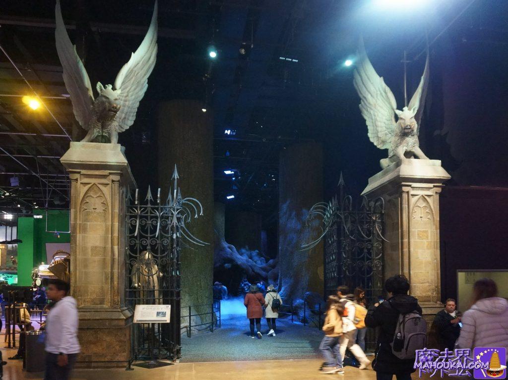 ホグワーツ正門(HOGWARTS GATE)ワーナーブラザース ハリーポッタースタジオツアー(イギリス/ロンドン)
