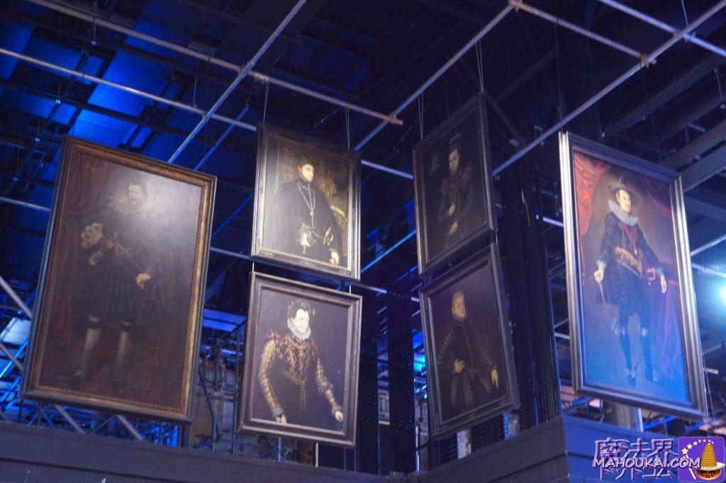 魔法使いの肖像画 ワーナーブラザース ハリーポッタースタジオツアー(イギリス/ロンドン)