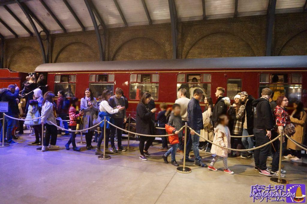 ホグワーツ特急の客車(個室)見学 ワーナーブラザース ハリーポッタースタジオツアー(英国/ロンドン)