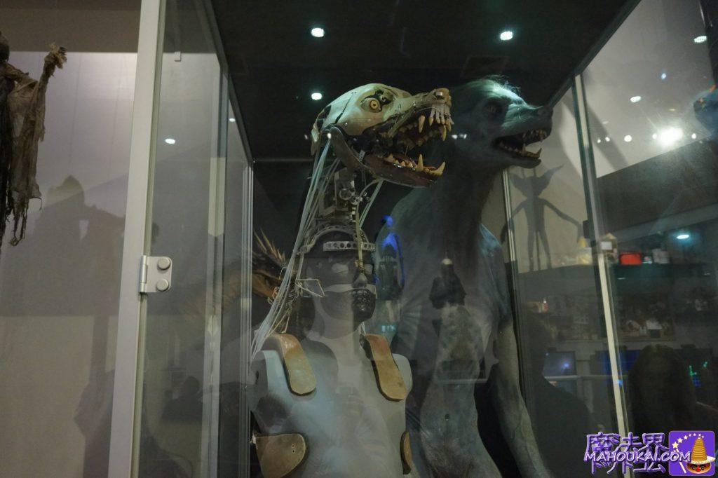 狼人間(ルーピン先生の変身した姿)の稼働フィギュア ワーナーブラザーススタジオツアー メイキング・オブ・ハリーポッター(英国/ロンドン)