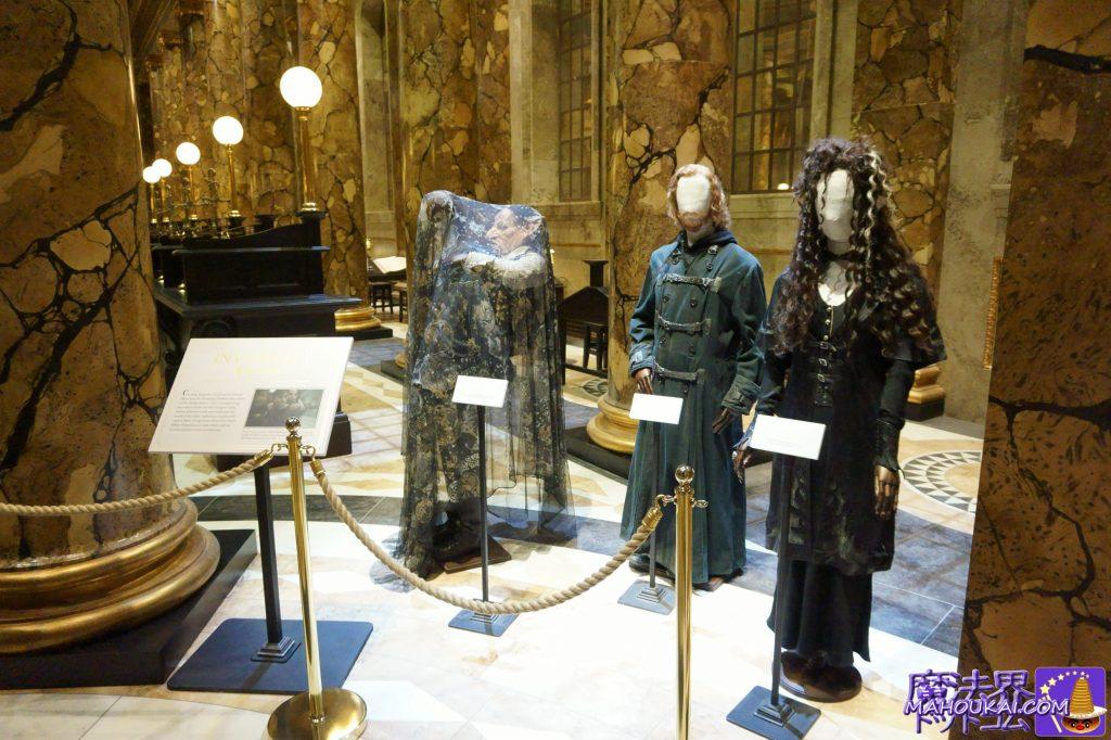 グリンゴッツ銀行(Gringotts Wizarding Bank)ハリー、ロン、ハーマイオニー ワーナーブラザーススタジオツアー メイキング・オブ・ハリーポッター(イギリス/ロンドン)