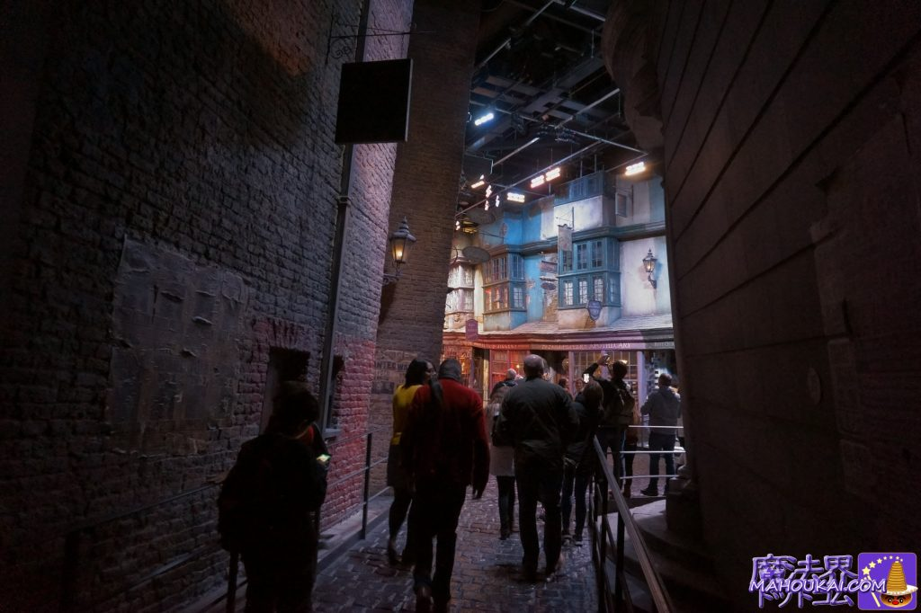 ダイアゴン横丁(Diagon Alley)の入口 ワーナーブラザーススタジオツアー メイキング・オブ・ハリーポッター(イギリス/ロンドン)