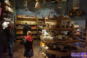 スタジオショップ 魔法動物、魔法生物のコーナー