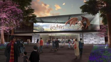 ハリーポッタースタジオツアー東京の入口イメージ