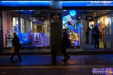 ノーブルコレクション コヴェント・ガーデン店(The Noble Collection Covent Garden shop)ハリーポッターのレプリカグッズ勢ぞろい!(ロンドン)