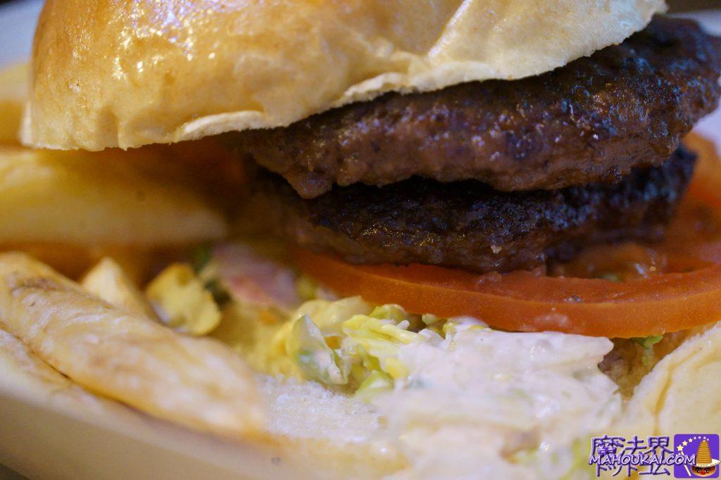 食べた物:バックロットバーガー&チップス(Backlot Burger & Chips)