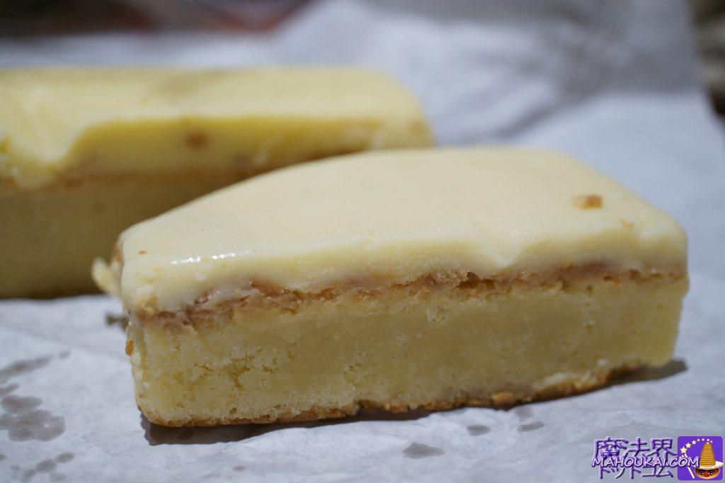 食べた物:ブロンド・ブラウニー(Brownie/Blondie)3£ ×2個