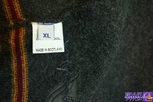 グリフィンドールのカーディガン(Gryffindor Cardigan)の製品国:スコットランド製 生地:ラムズウール