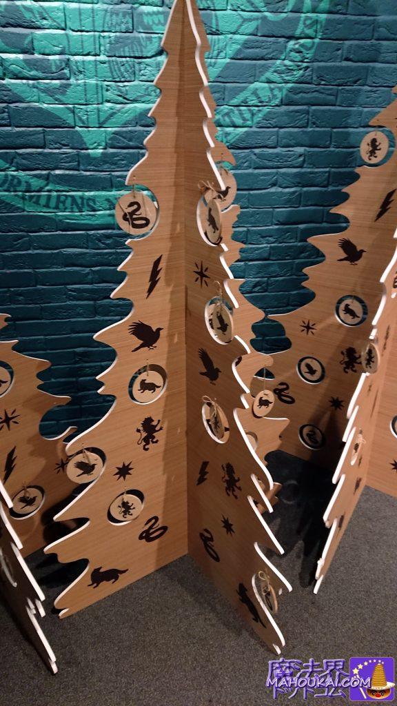 組み立て式クリスマスツリー型の飾り物