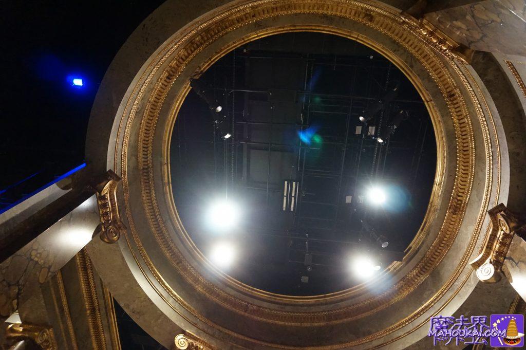 グリンゴッツ銀行のホール天井