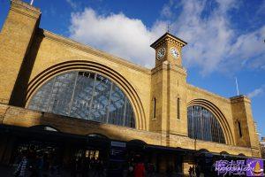 実際のキングスクロス駅 King's Cross station