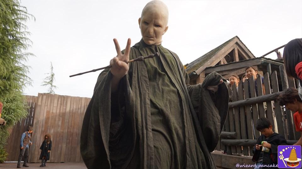 ヴォルデモートが蘇ったのじゃ!リアルすぎる闇の帝王がホグズミードに出現!(ハリポタ仮装ハロウィン)魔法使いパンケーキマン ダンブルドア