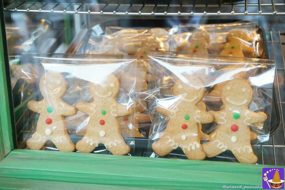 4.マジックニープカートのクリスマスのお菓子 ミンスパイ&ジンジャーブレッドマン・ビスケット(USJハリポタ)魔法使いパンケーキマン ダンブルドア