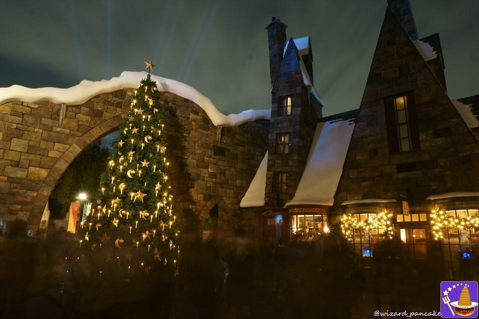 魔法のクリスマスツリーをマジカルワンドで魔法呪文ルーモス♪ロコーモーター♪2016年ハリポタクリスマス 魔法使いパンケーキマン ダンブルドア