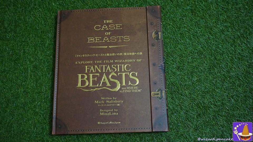ファンタビの世界をビジュアルブックで体験しよう♪「ファンタスティックビーストと魔法使いの旅」魔法映画への旅 魔法使いパンケーキマン ダンブルドア
