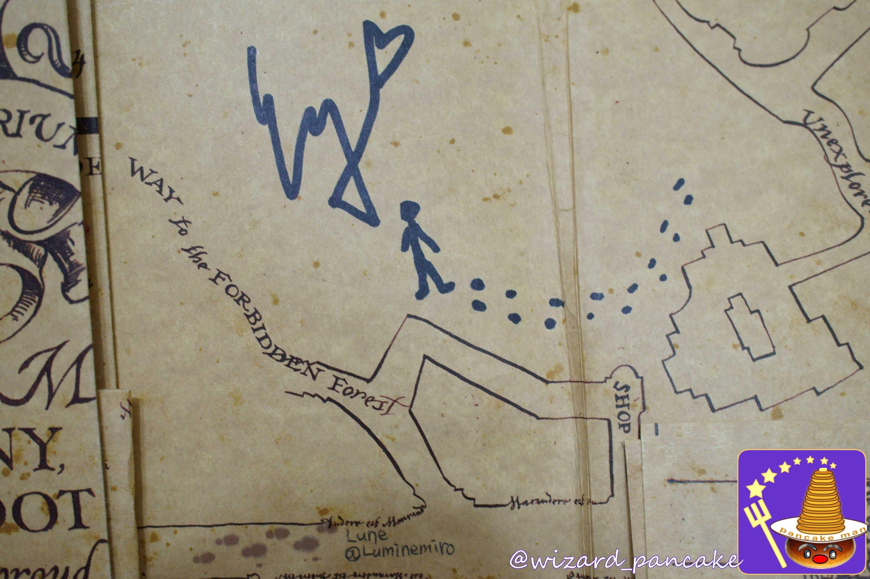 エズラ・ミラーのサインと忍びの地図