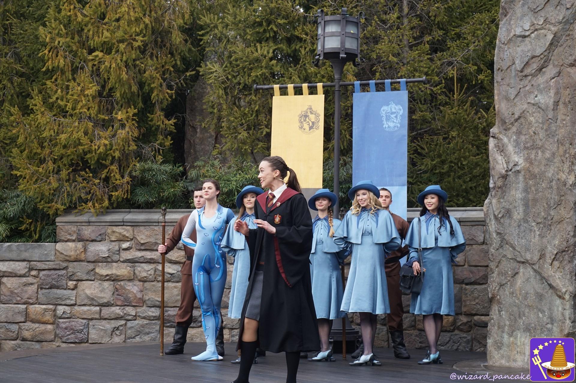 USJハリポタエリア祝5周年 大魔法祭♪『トライウィザード・スピリット・ラリー』2019新バージョン ホグズミード村の新ショー