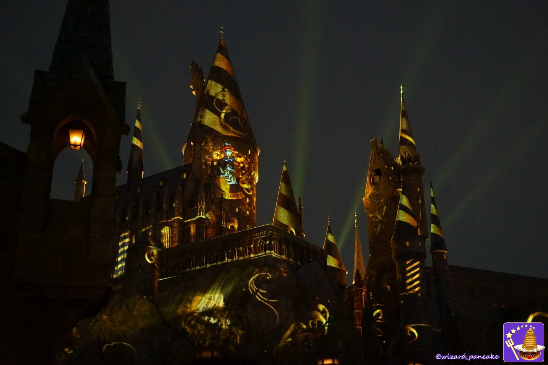 ハッフルパフ ハリポタエリア祝5周年 大魔法祭♪新ナイトショー『ホグワーツマジカルセレブレーション』新キャッスルショー2019/3/20~11/4