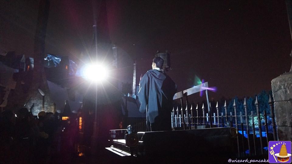 ハリポタのエクスペクト パトローナム ナイトショー(超ネタバレ有)を見に行けない者や1回しか見れない方の為の超解説じゃ!USJ魔法界♪ 魔法使いパンケーキマン・ダンブルドア