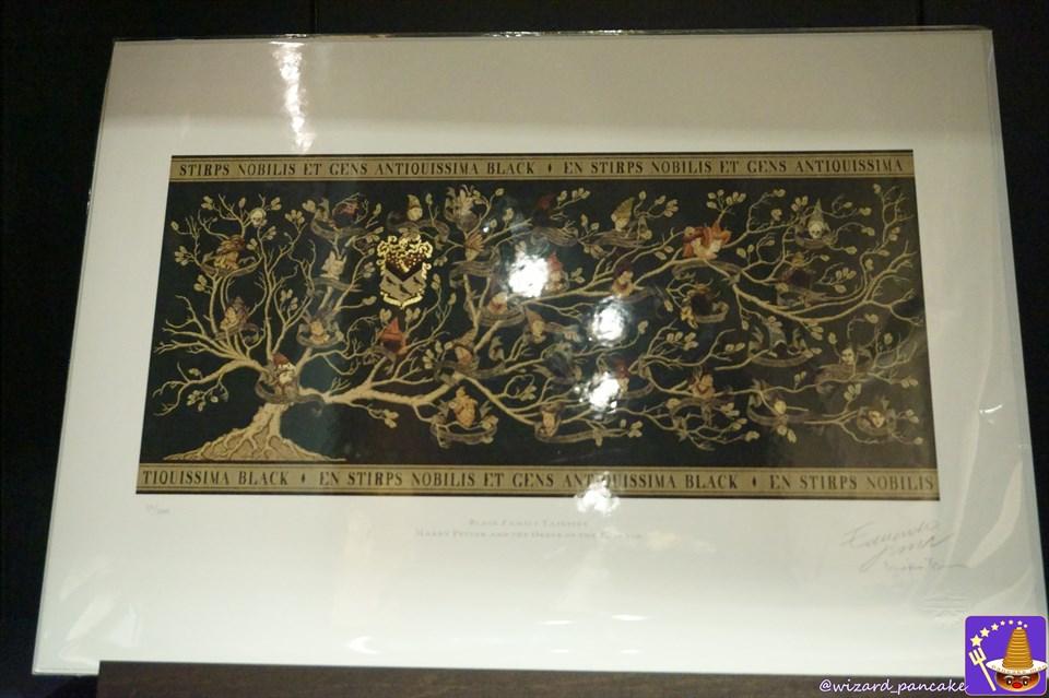 USJにハリポタのブラック家の家系図タペストリーが遂に販売!?minalima(ミナリマ)ビバリーヒルズギフト 魔法使いパンケーキマン・ダンブルドア