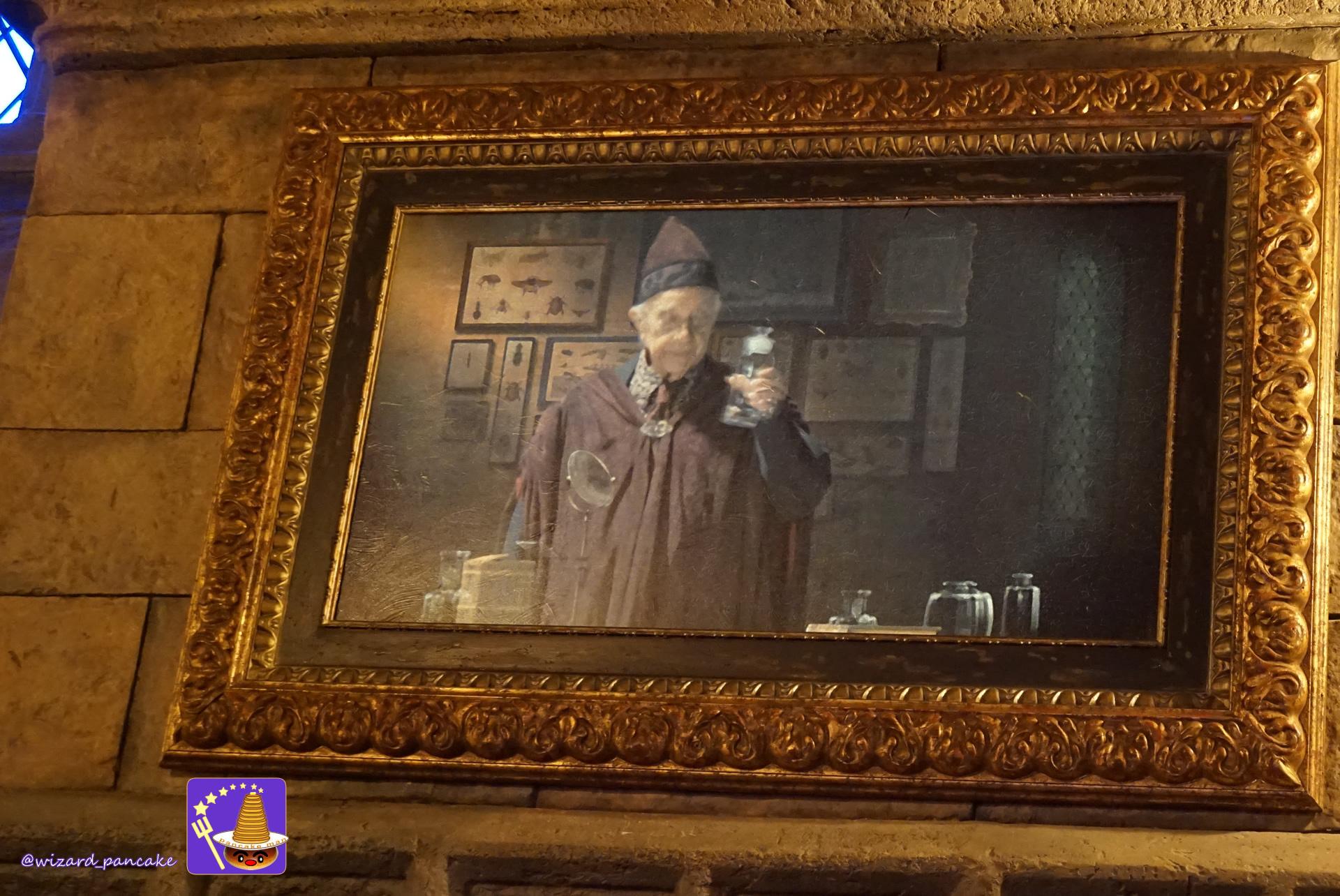 ファンタビで登場した魔法生物ビリーウィッグがホグワーツ城に!?ホグワーツ キャッスル ウォーク(USJ魔法界)パンケーキマン・ダンブルドア